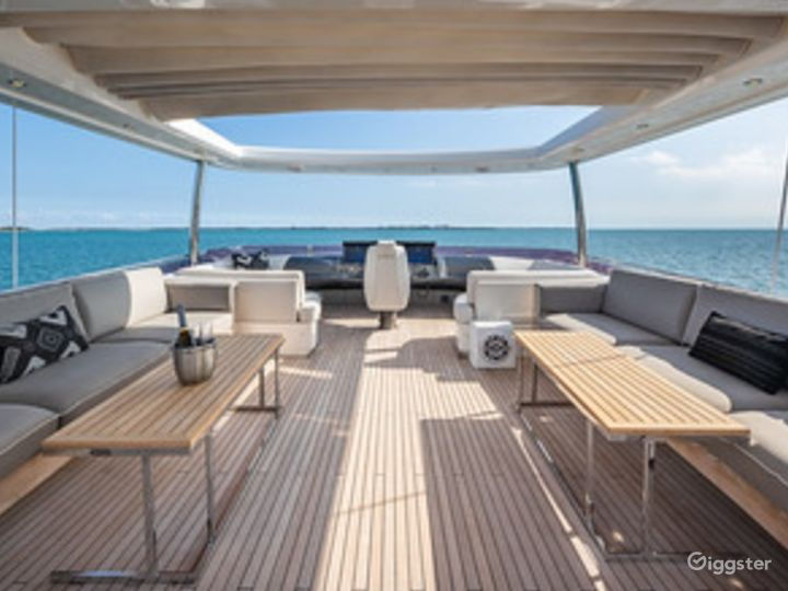 Huge and Dazzling 88FT PRINCESS with Jetski Included Party Yacht Space Events Photo 5