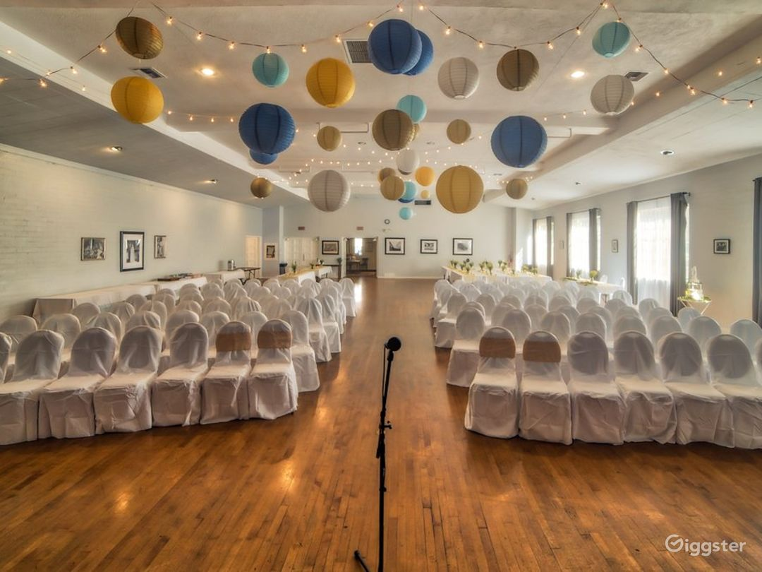 Ballroom Wedding Venue with a Rich History Photo 1
