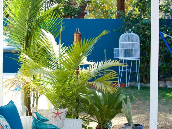Perfect for shooting! Mediteranean style backyard! Photo 4