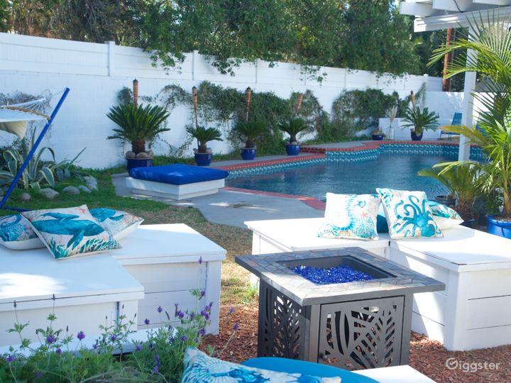Perfect for shooting! Mediteranean style backyard! Photo 2