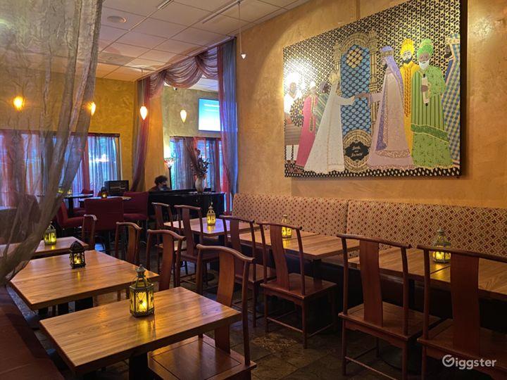 Colorful Dinette & Meeting Room Setup in San Francisco