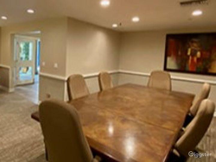 Elegant Executive Board Room Photo 2