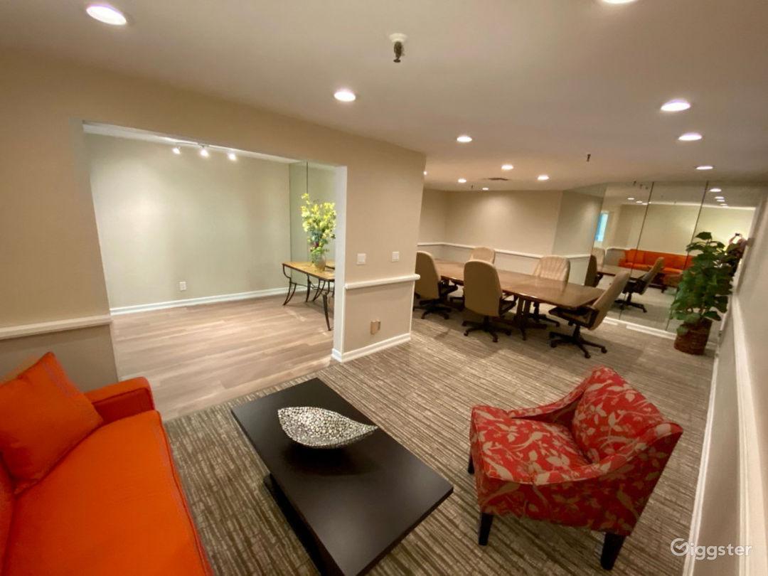 Elegant Executive Board Room Photo 1