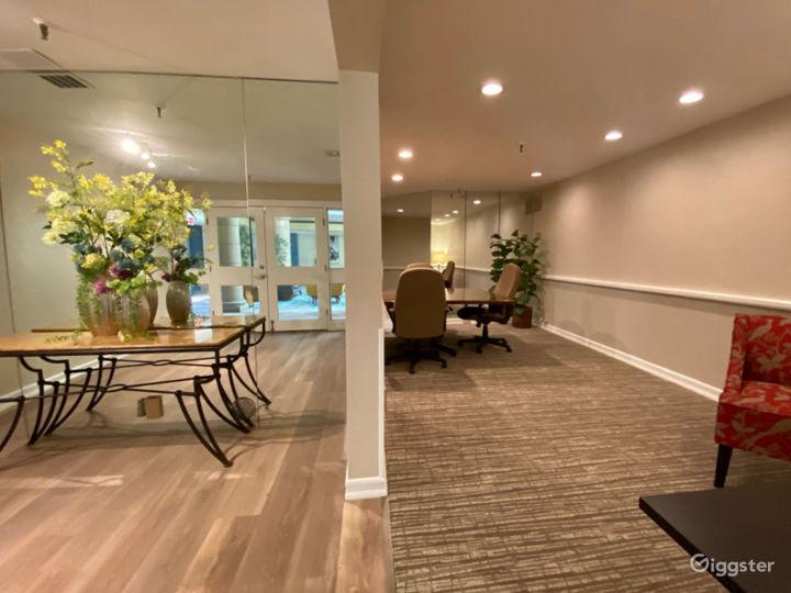 Elegant Executive Board Room Photo 3