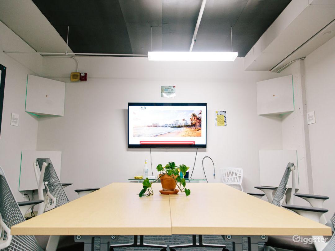 Bright Board Room Photo 1