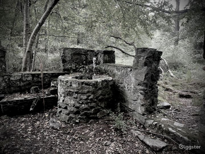 Abandoned water well.
