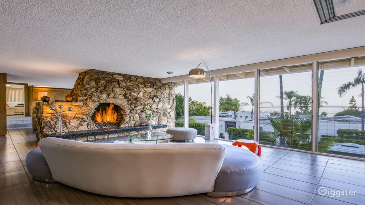 Legendary Sunset Villa in West Hollywood Los Angeles Rental