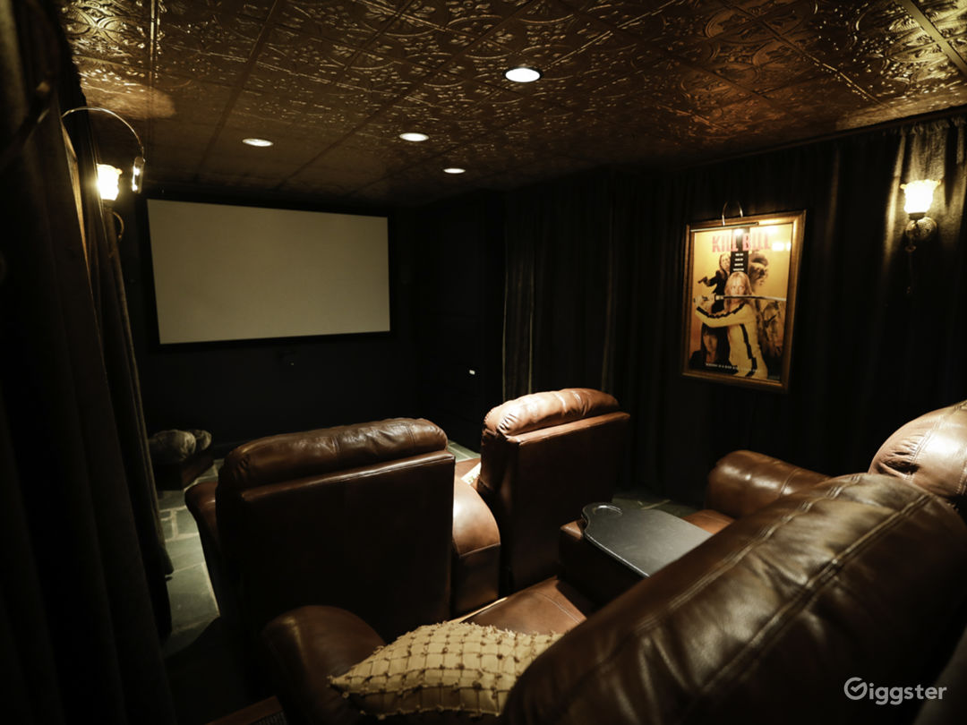 The theatre room