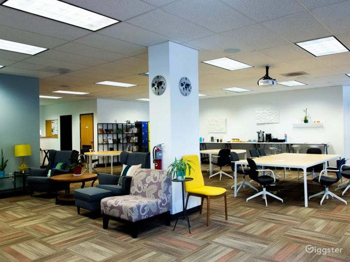 Fully Furnished Modern Office and Event Space Photo 3