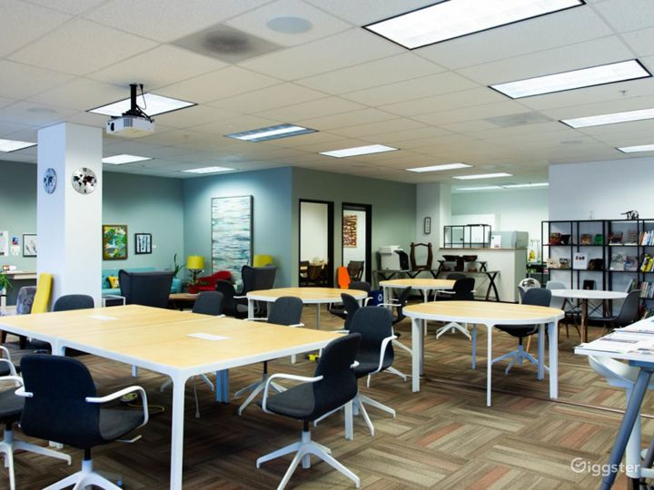 Fully Furnished Modern Office and Event Space
