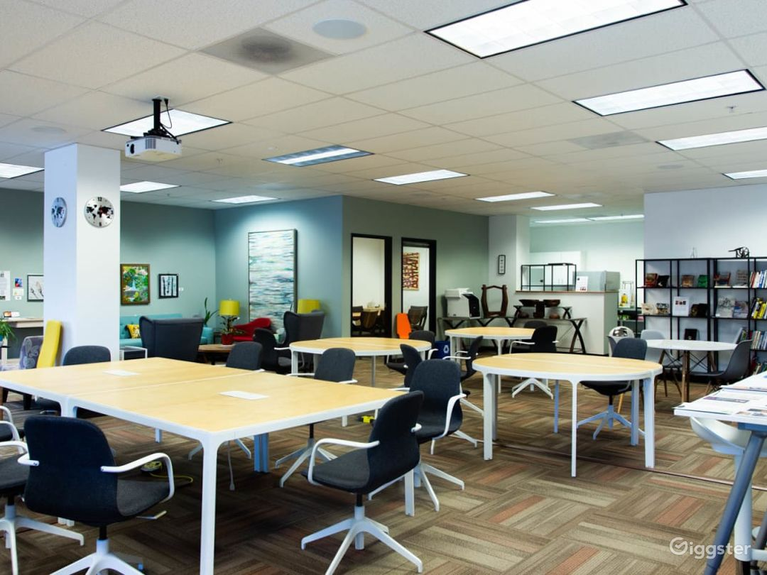 Fully Furnished Modern Office and Event Space Photo 1