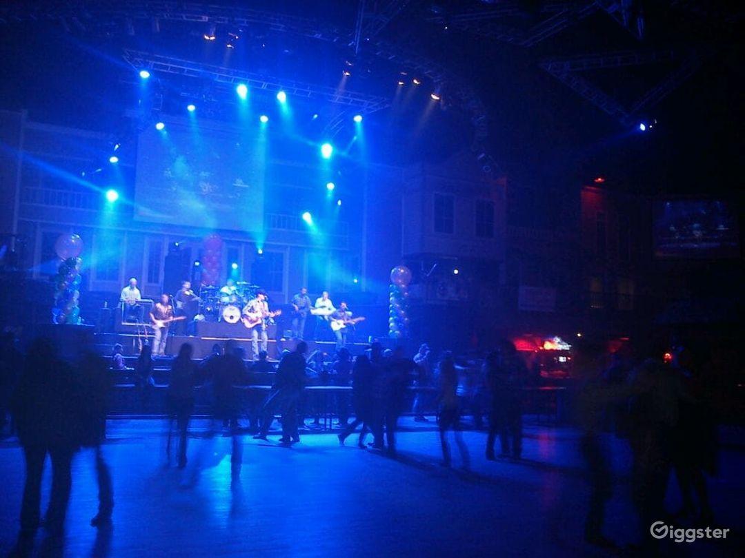Spacious Stage & Dance Hall in San Antonio  Photo 1