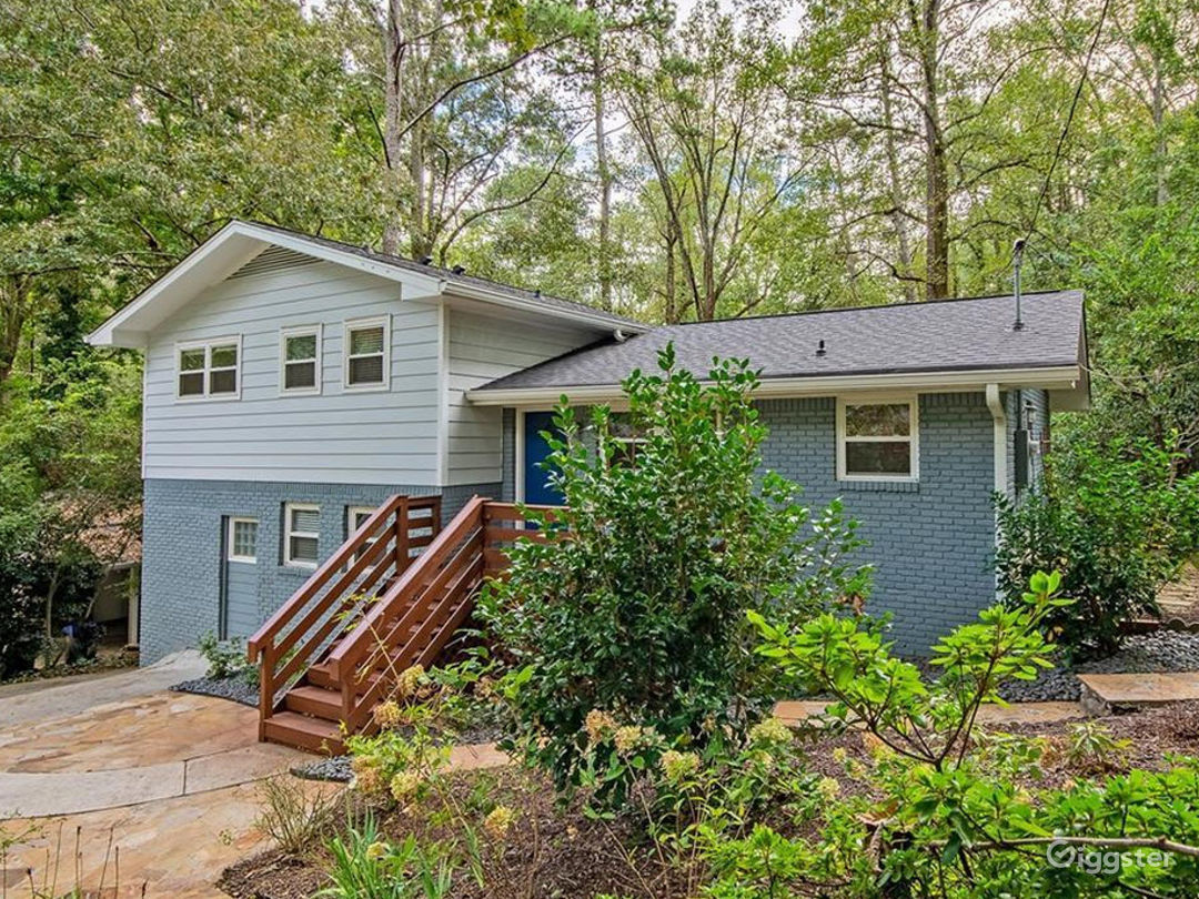 Mid Century Modern Home Atlanta Rental
