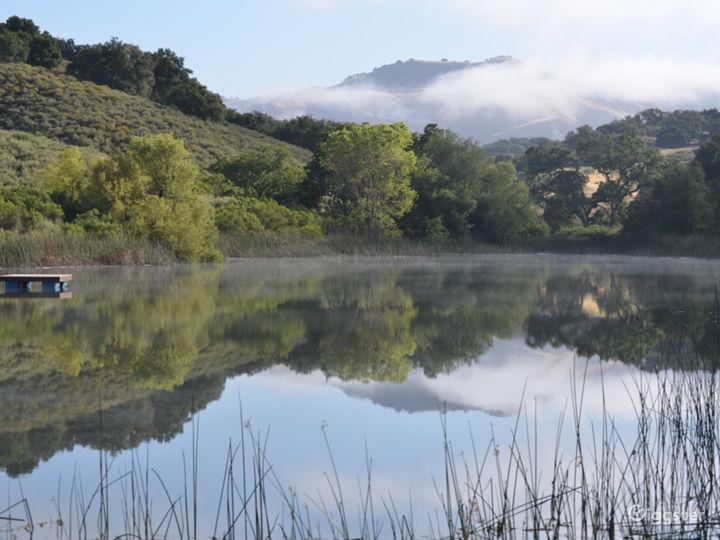 Camp Zaca lake & San Rafael Mountains