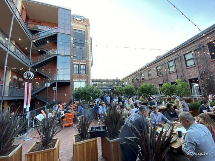 Rustic and Brick Designed Beer Garden in San Francisco Photo 3