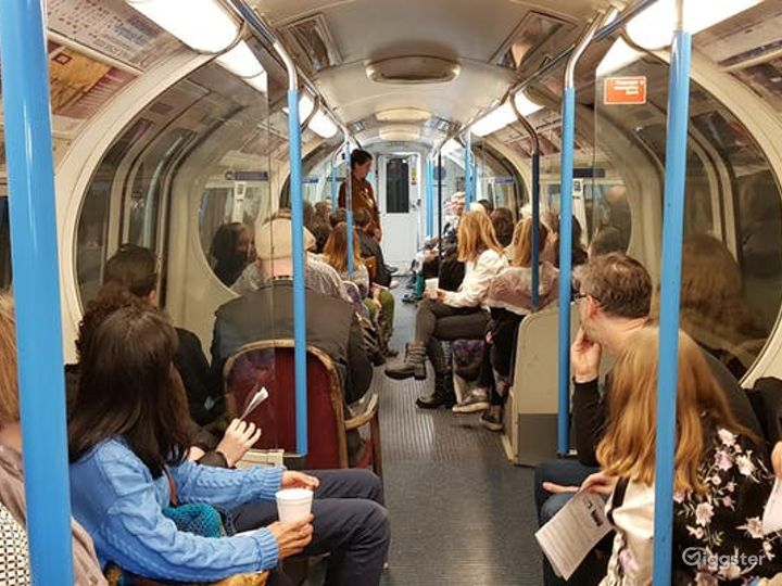 Original Tube Carriages in London Photo 4