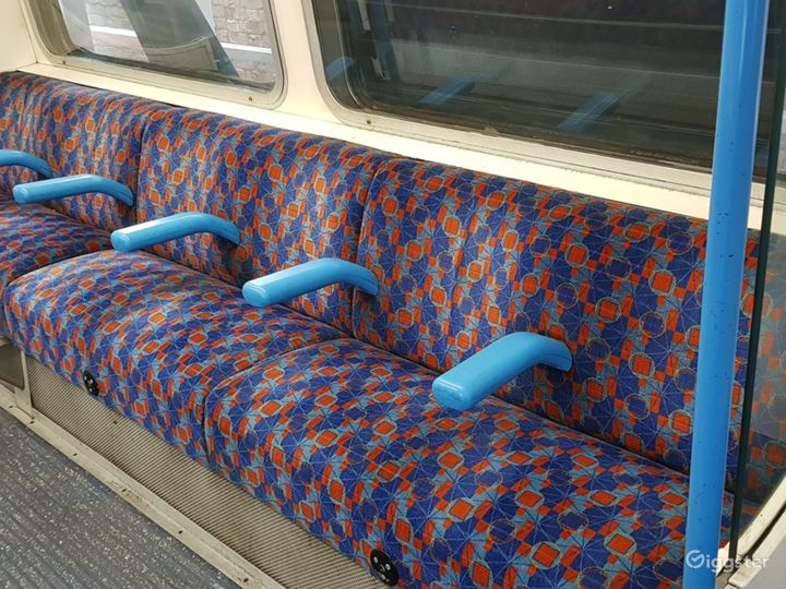 Original Tube Carriages in London Photo 2