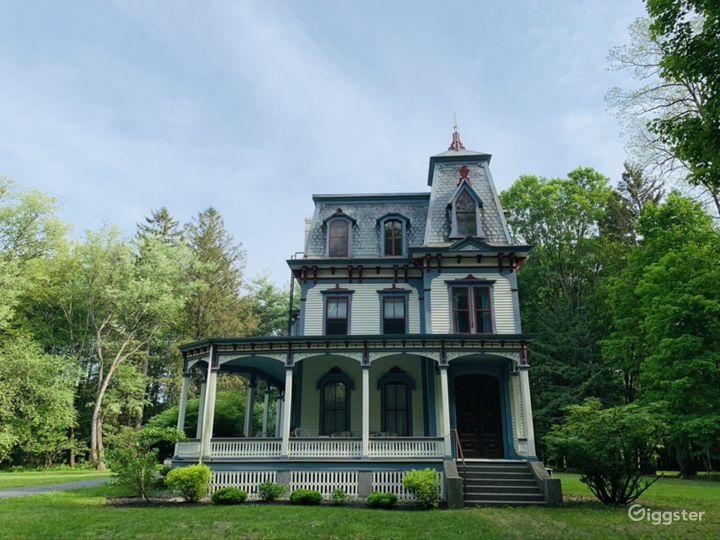 Second Empire Victorian Mansion & Barns Photo 4