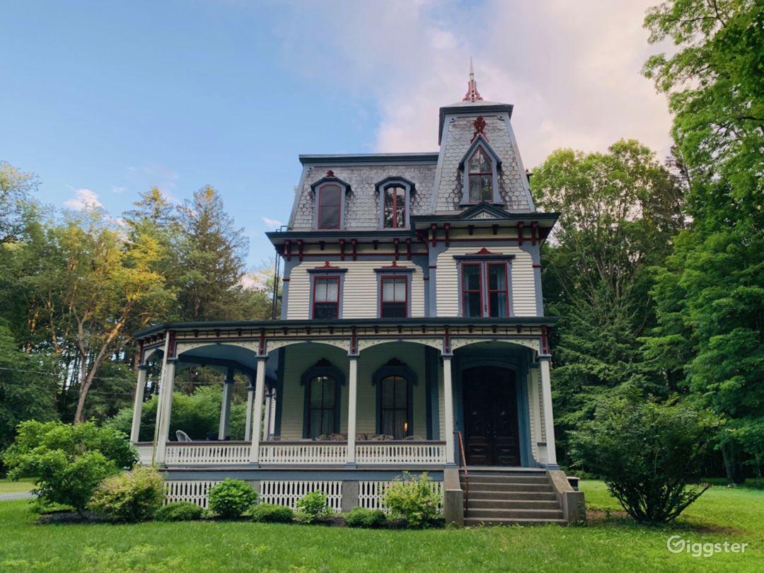 Second Empire Victorian Mansion & Barns Photo 1