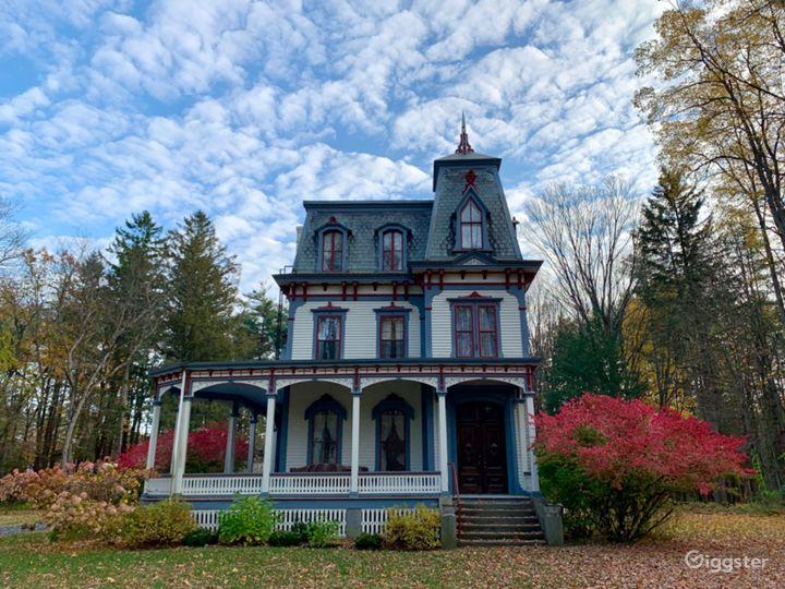 Second Empire Victorian Mansion & Barns Photo 3