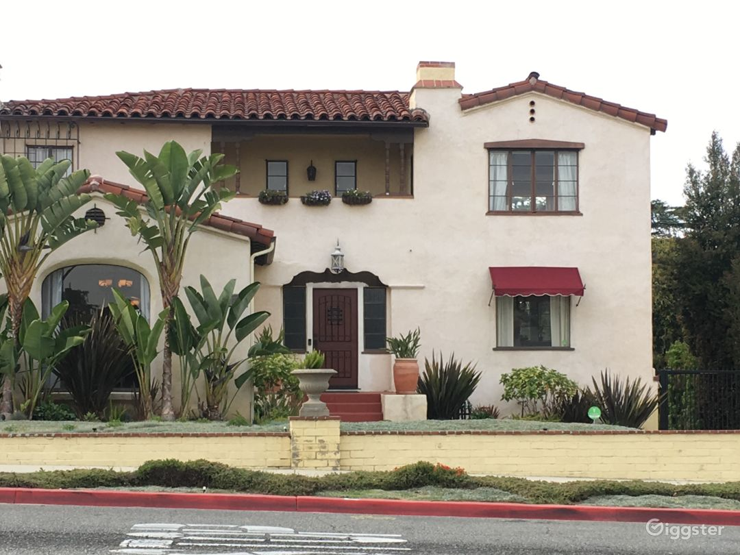 Front Exterior - Spanish Colonial built in 1932.