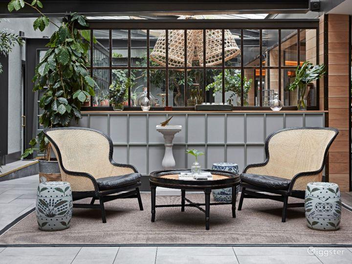 Bright and Airy Garden Restaurant in Edinburgh Photo 4