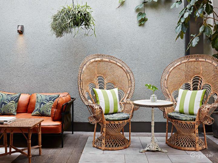Bright and Airy Garden Restaurant in Edinburgh Photo 3