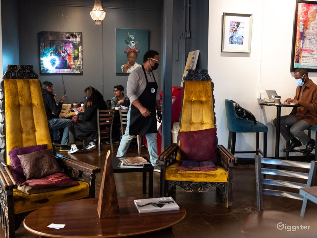 Urban Atlanta Coffeehouse Photo 1