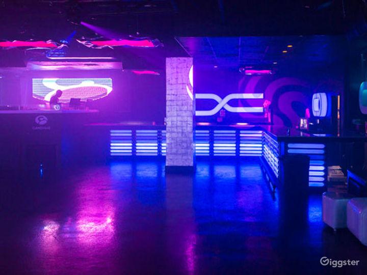 Futuristic-Style and Colorful Night Club in Boston  Photo 5