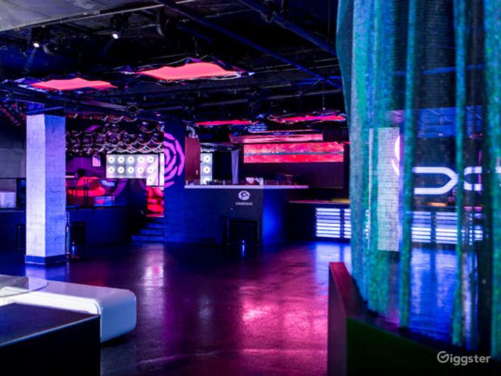 Futuristic-Style and Colorful Night Club in Boston