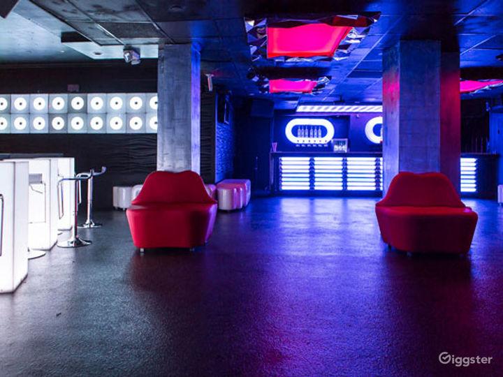 Futuristic-Style and Colorful Night Club in Boston  Photo 4