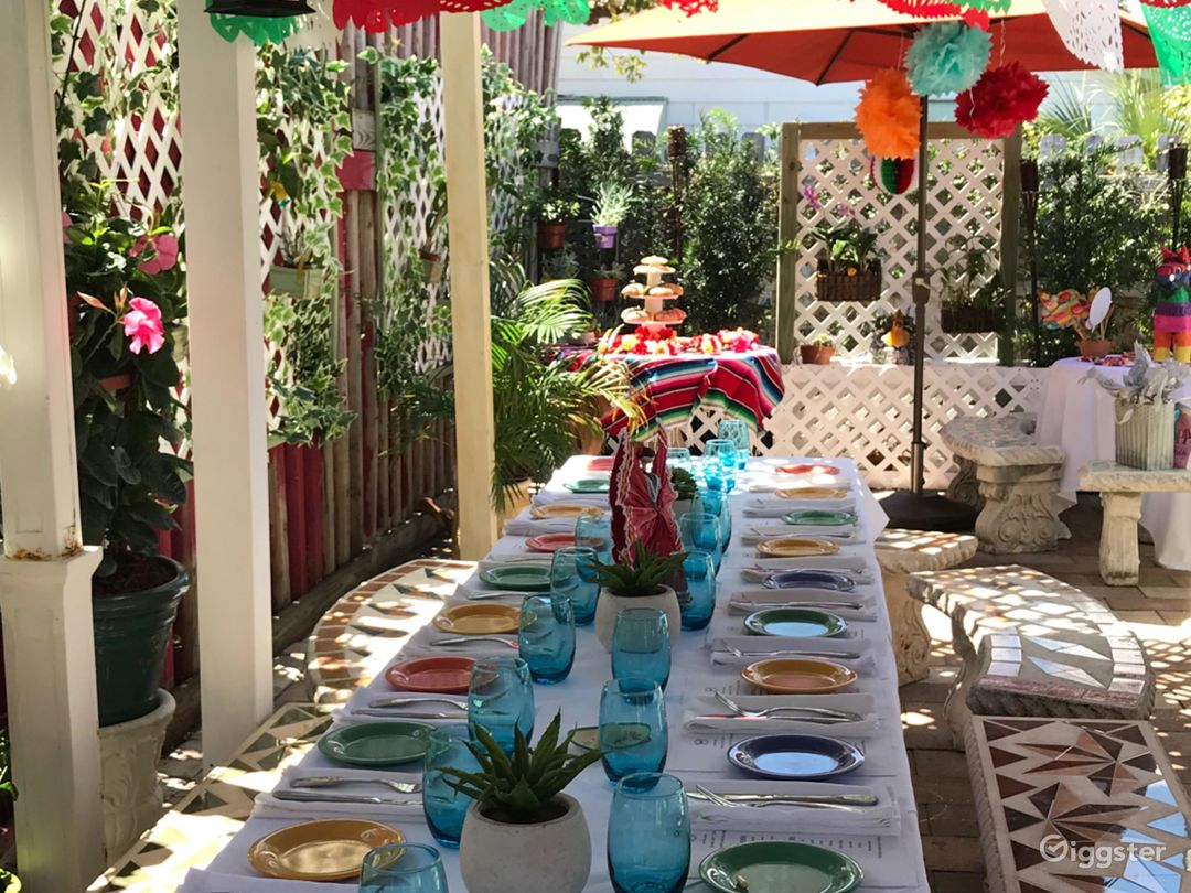 Beautiful Outdoor Patio for Parties in West Palm Beach Photo 1