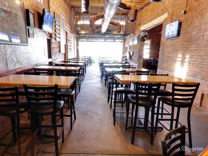Main Dining Space in a Historic Building in Tempe
