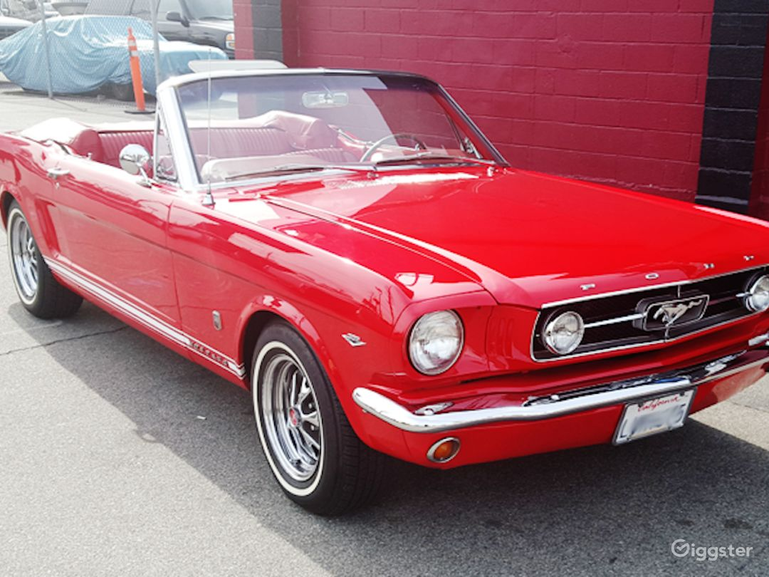 70 015 Classic 1965 Ford Mustang Convertible Rent This Location On Giggster