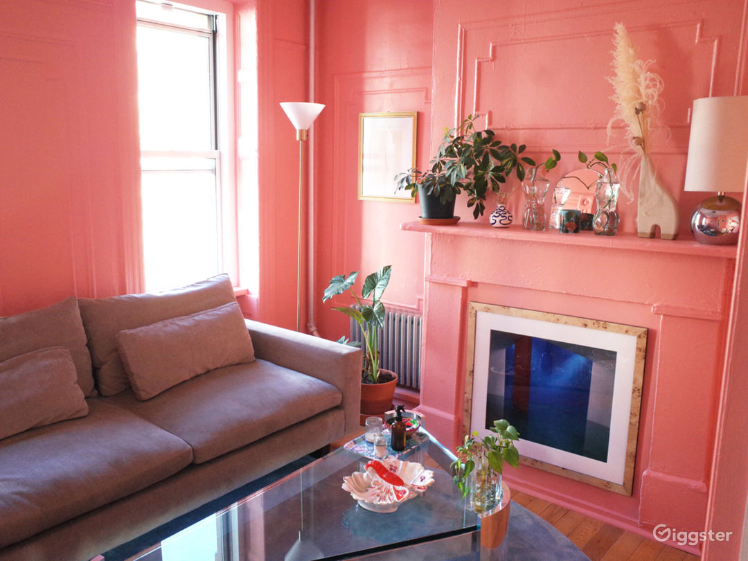 A Pink Moment in Brooklyn- Spacious sunlit apt Photo 1