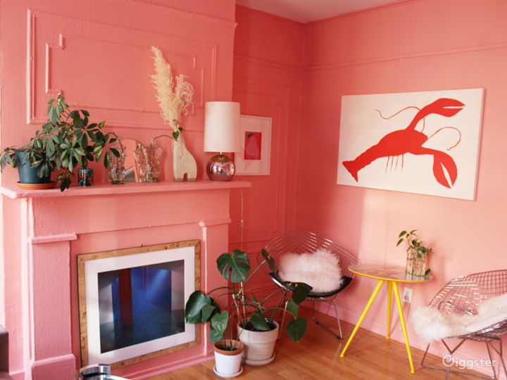 A Pink Moment in Brooklyn- Spacious sunlit apt Photo 5
