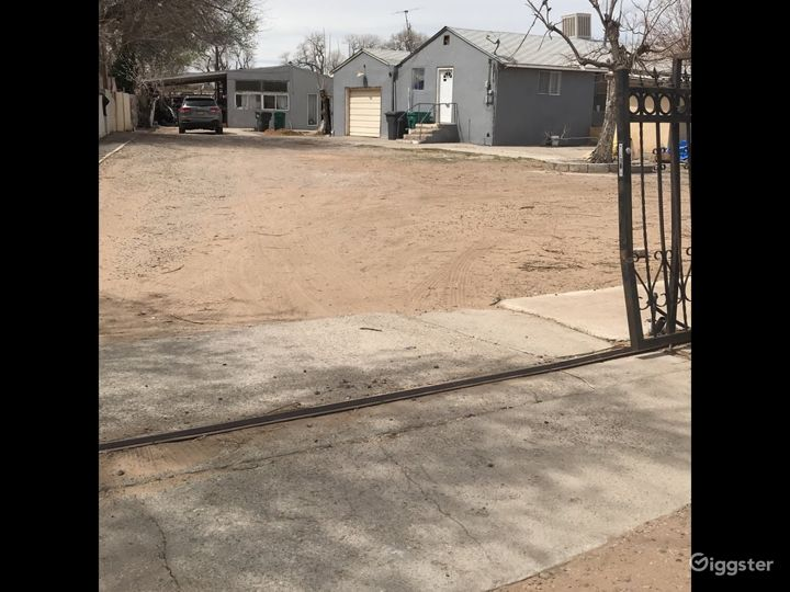 Home with lots of yard space
