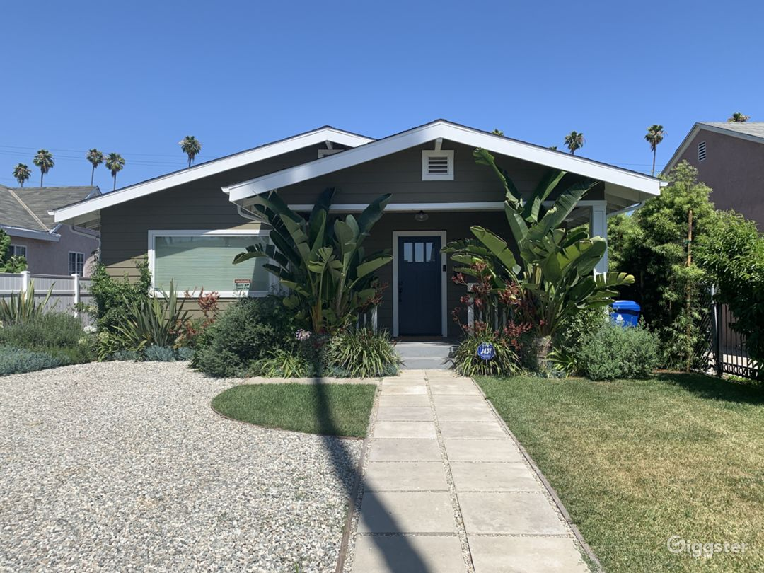 Great craftsman style home in central location - close to Expo rail line, new Crenshaw subway terminal and major commercial developments