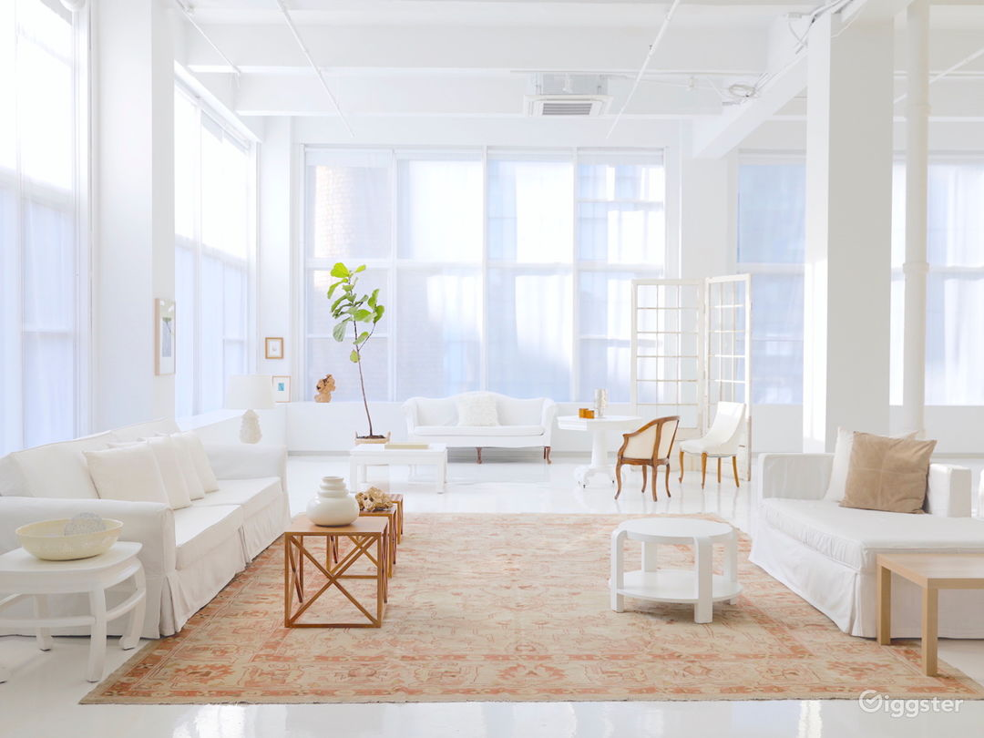 10,000 sq ft of White Boxed Space in Hudson Yards Photo 1