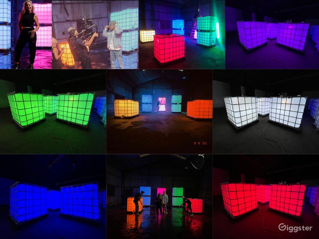 The LED Box Set - Versatile Color Changing Crates Photo 1