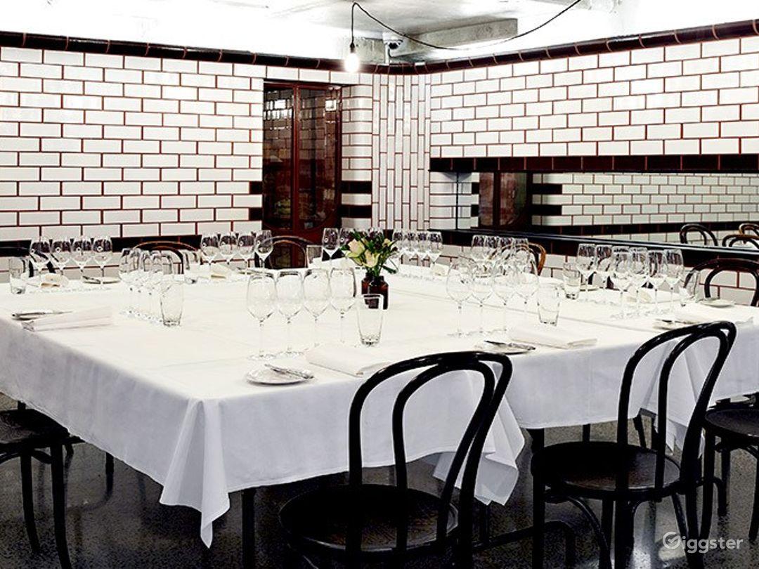 Private Underground Dining Room  Photo 1