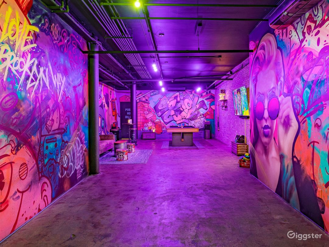 Street Art-Inspired Unique Private Space Photo 1