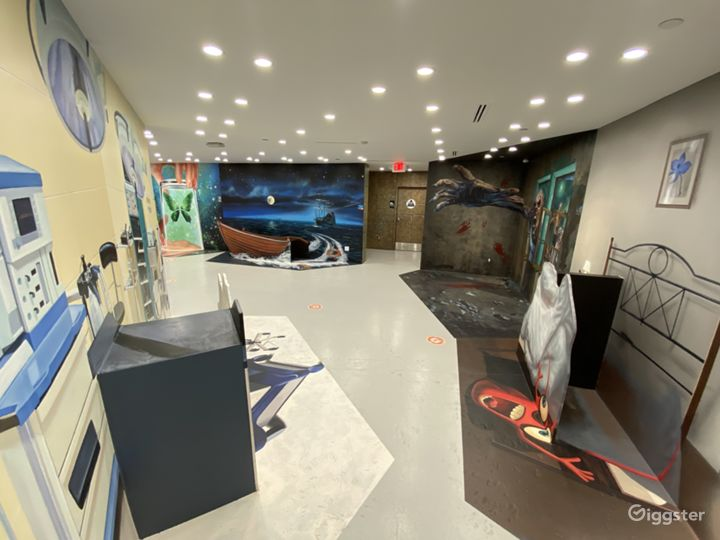Beautiful Hand Painted Murals -8,000 sqft. Exhibit Photo 5