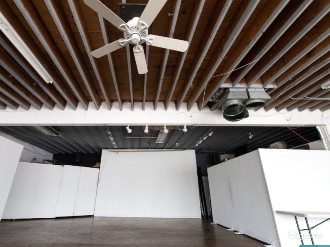 2000 sqft. Melrose, Loft location - Prod. /Event Photo 2