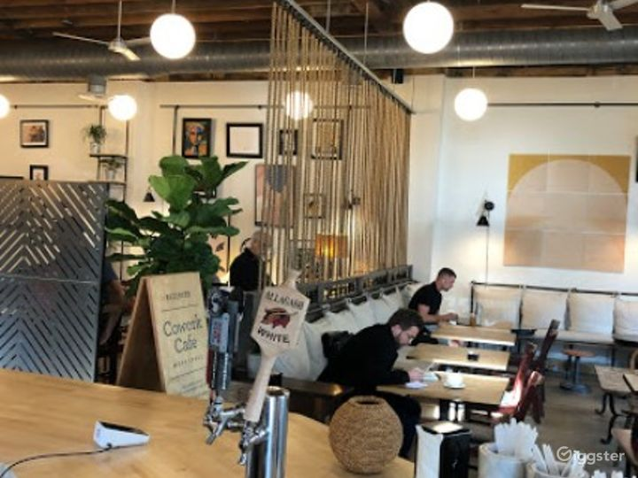 Casual and Intimate Front Cafe Dedicated Space  Photo 4