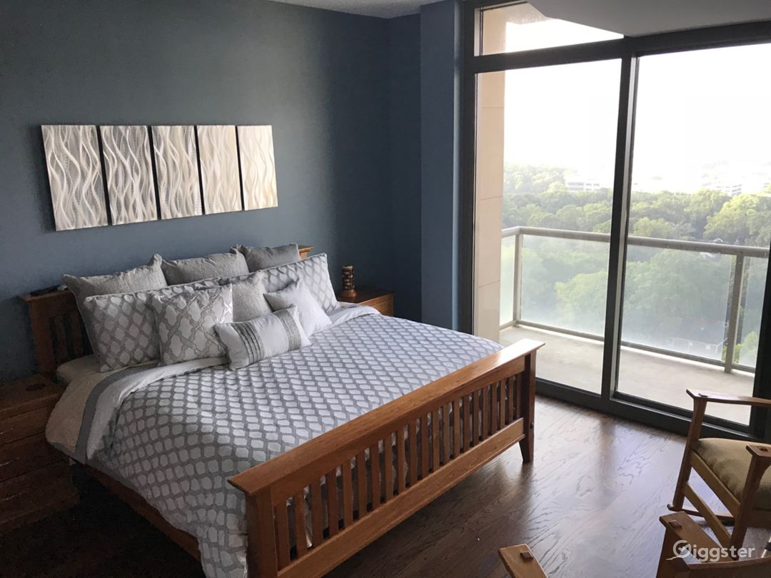 Modern Condo with a Balcony Photo 1