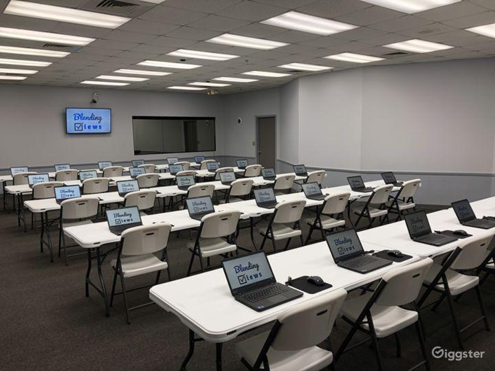 Classroom Style Setup