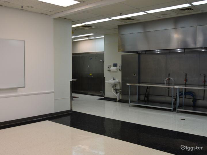 Empty Kitchen View