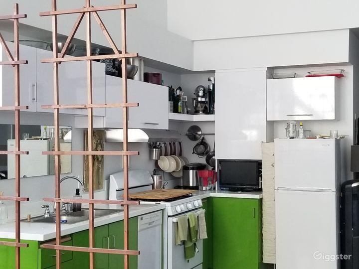 Two-story, modern DTLA loft.  Photo 2