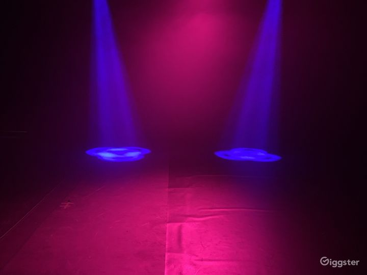 Moving lights avail for music videos and live events
